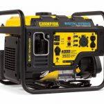 Champion Power Equipment Portable Generator  4,000 Watt RV Ready Review 2018